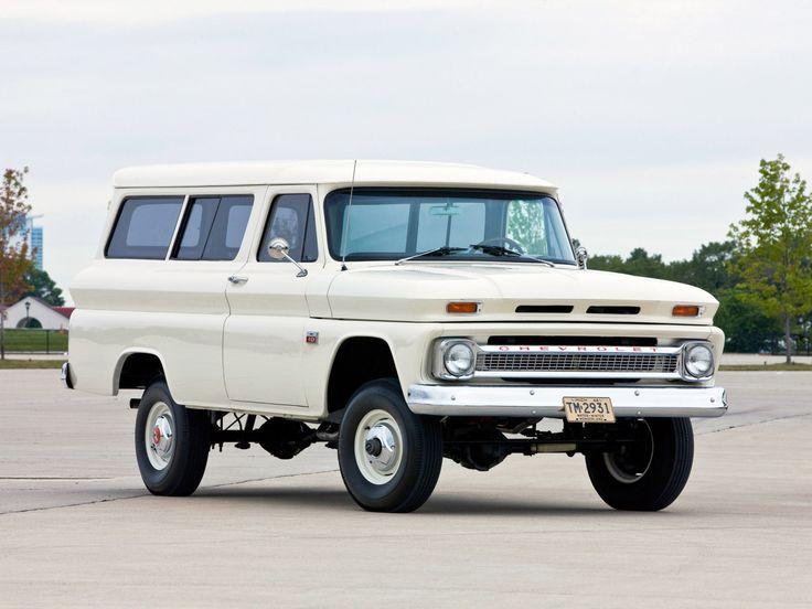 Chevrolet Suburban шевроле сабурбан 1960 1966