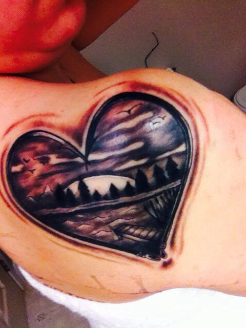 301 moved permanently for Fish hook heart tattoo