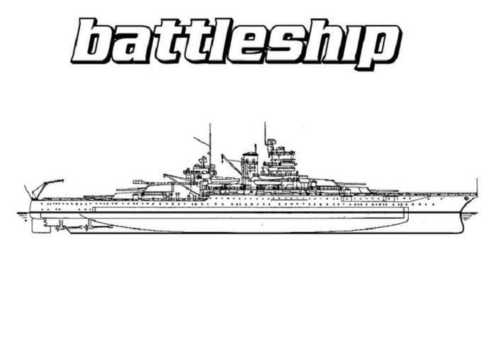 Warship Coloring Pages Battleship Coloring Pages Super Coloring Pages Battleship