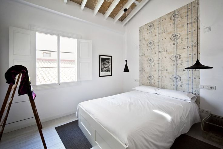 2 lámparas diferente forma dormitorio =) Photos Brondo Architect Hotel