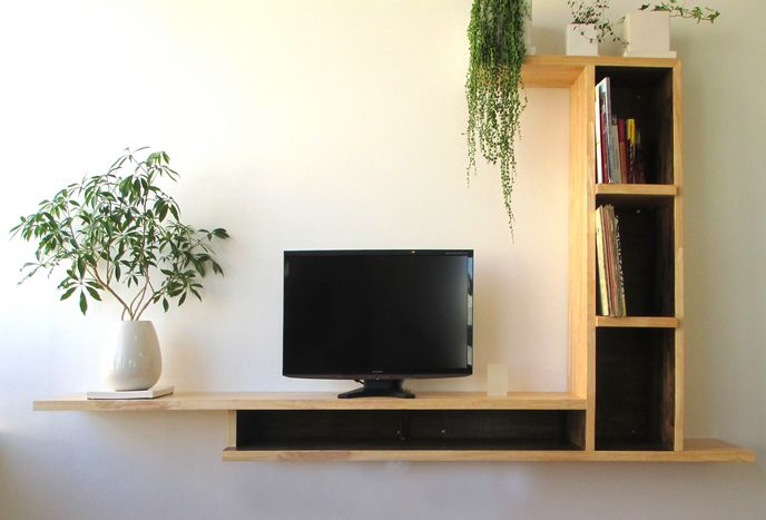 Studio Citta   Products   壁付テレビボード