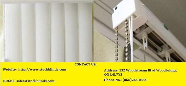 Stock Blinds offer the best of the #budget_blinds_in_Canada, which not only are created out of the best quality material but a customized design is also what we support. Visit us online to know more on our services and products.