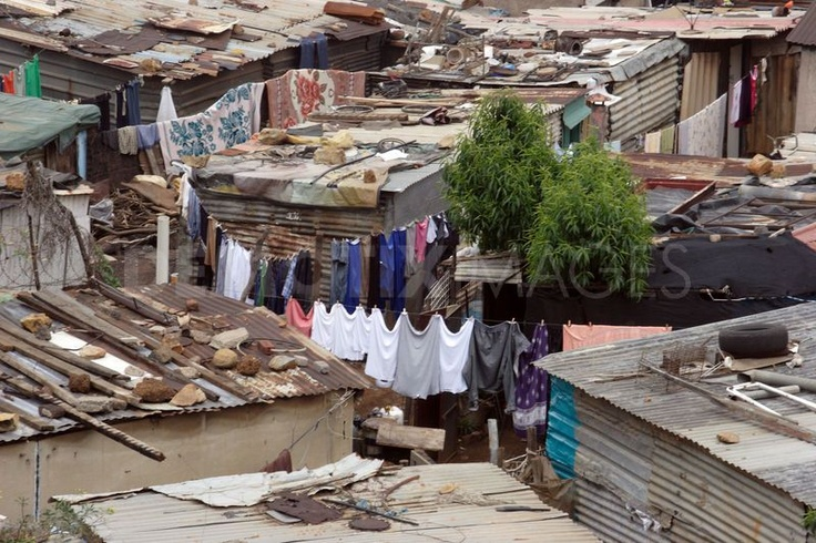 Daily life in South African township  Khayelitsha