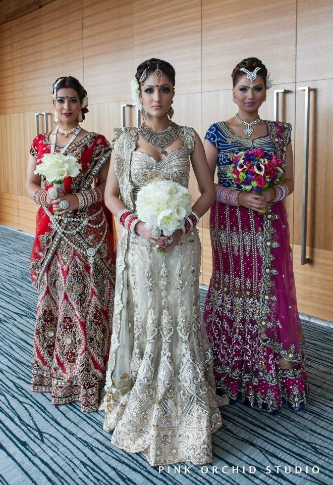 "For our wedding I'm definitely having ""Indian Style"" wedding make up. GORGEOUS!"