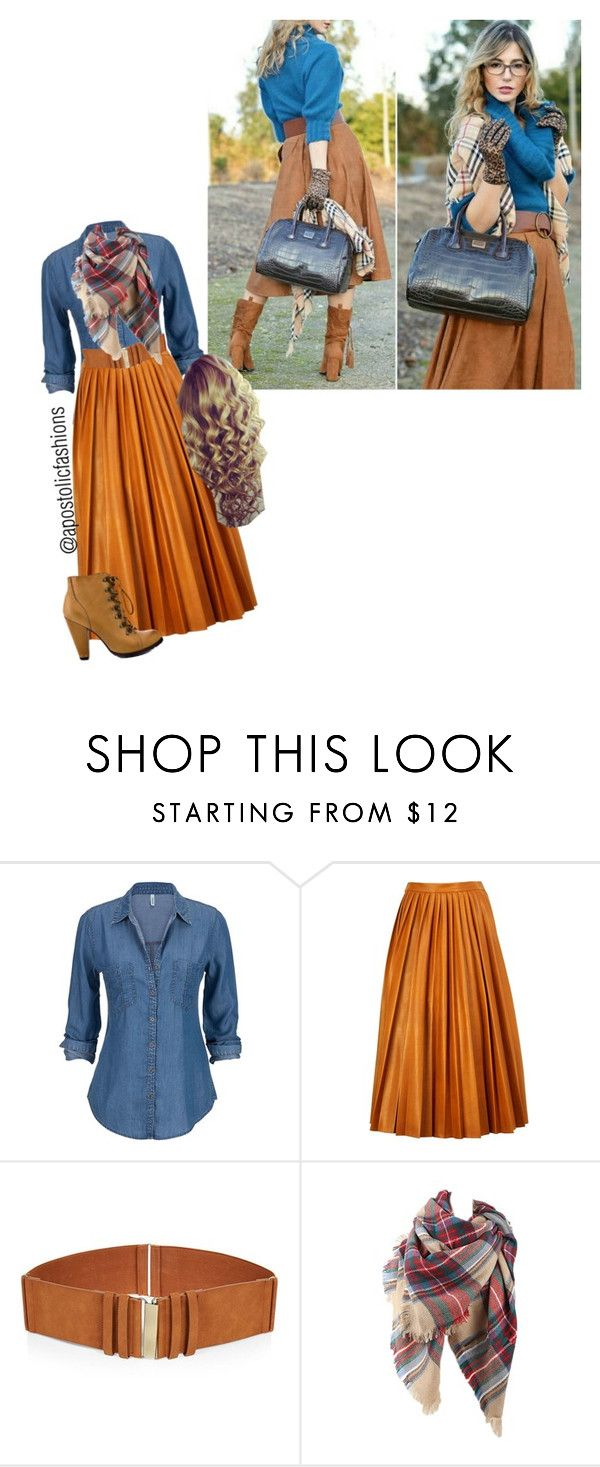 """Apostolic Fashions #970"" by apostolicfashions on Polyvore featuring By Malene Birger and Seychelles"
