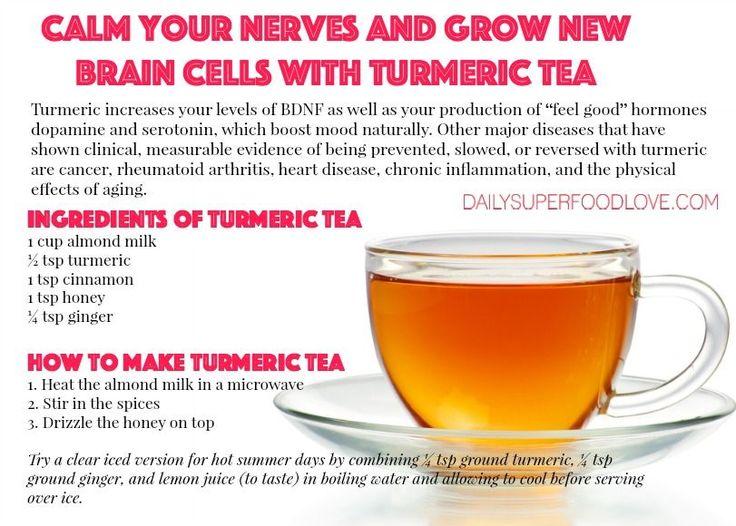how to make turmeric tea for weight loss