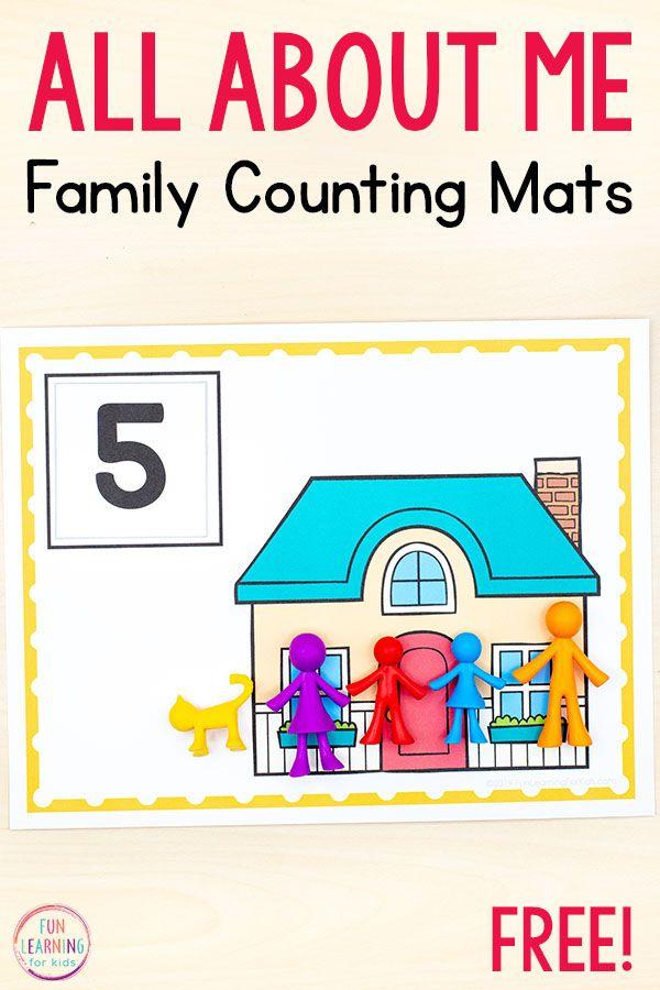 All About Me Activities Family Activities Preschool Preschool Families Activities Family Activities Kindergarten