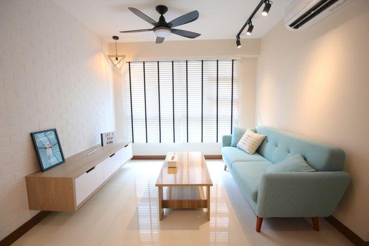 4 room bto flat at compassvale boardwalk | unity design consultancy pte ltd