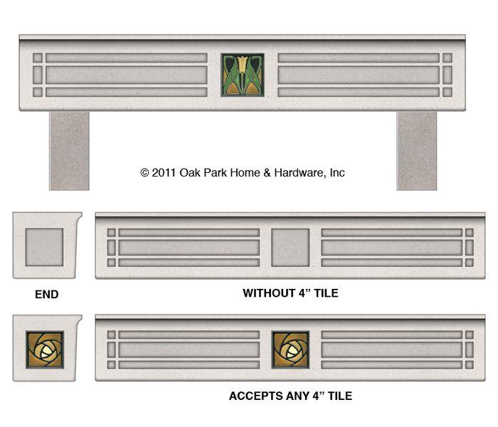 Joseph Galli Designs for the Home Cast Stone Bungalow Planter