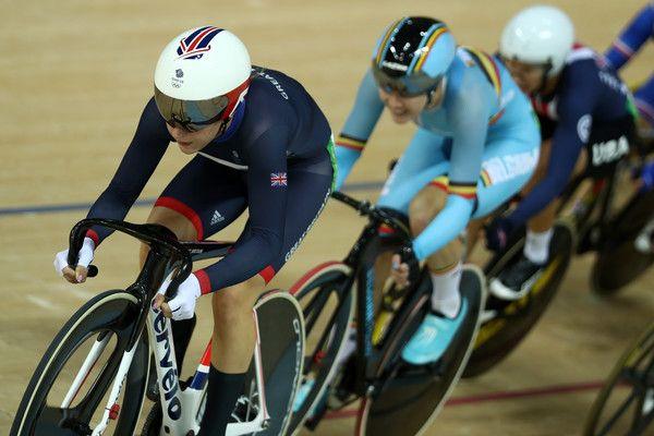 Laura Trott Photos - Laura Trott of Great Britain competes in the Women's Omnium…