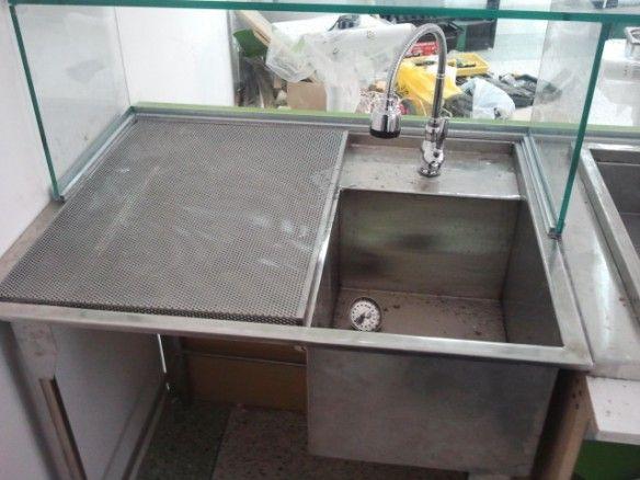 Las 25 mejores ideas sobre fregadero de servicio en for Fregadero para lavadero