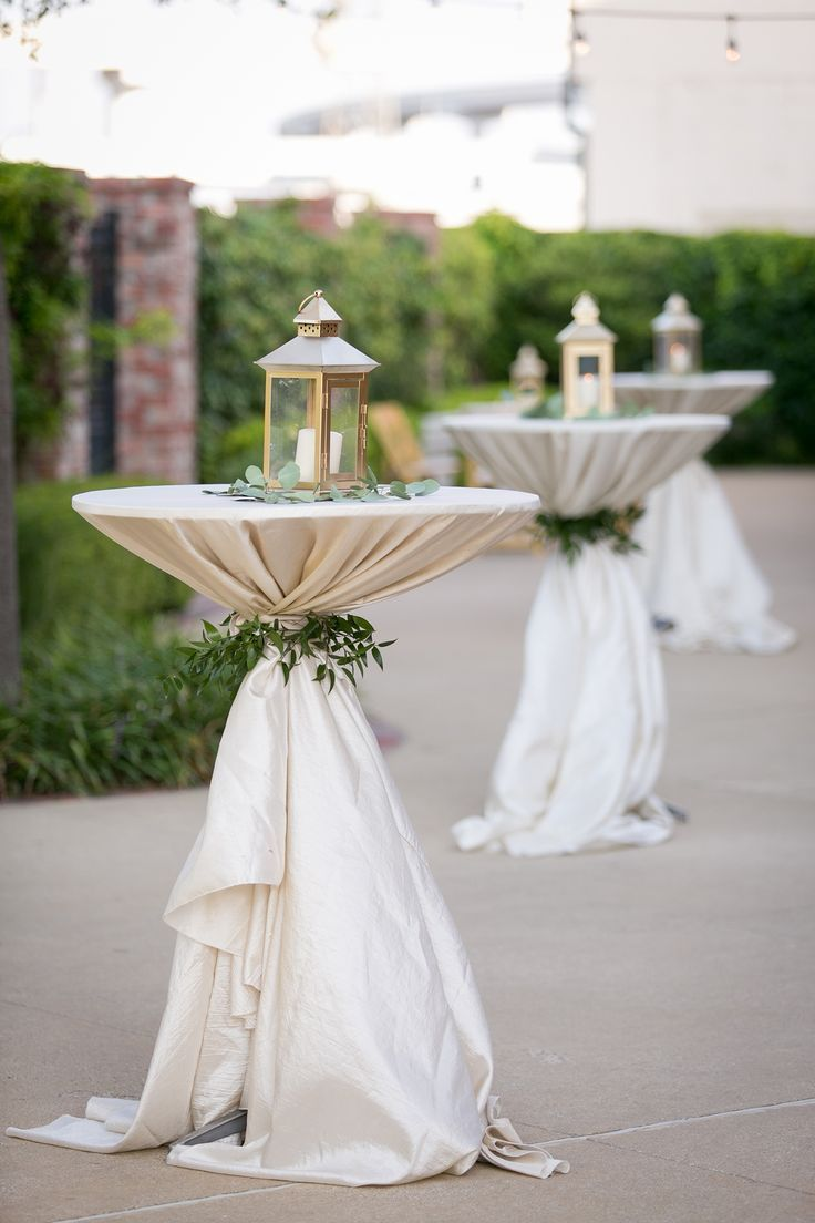 Bethany Tyler Wedding Decorations Cocktail Table Decor