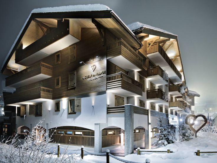 Hôtel Au Cœur du Village. Hôtel et restaurant à la montagne. La Clusaz. #relaischateaux #coeurduvillage #laclusaz