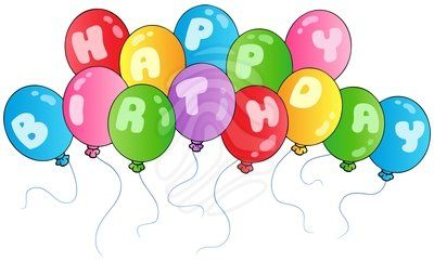 Happy Birthday Clip Art Happy Birthday Balloons