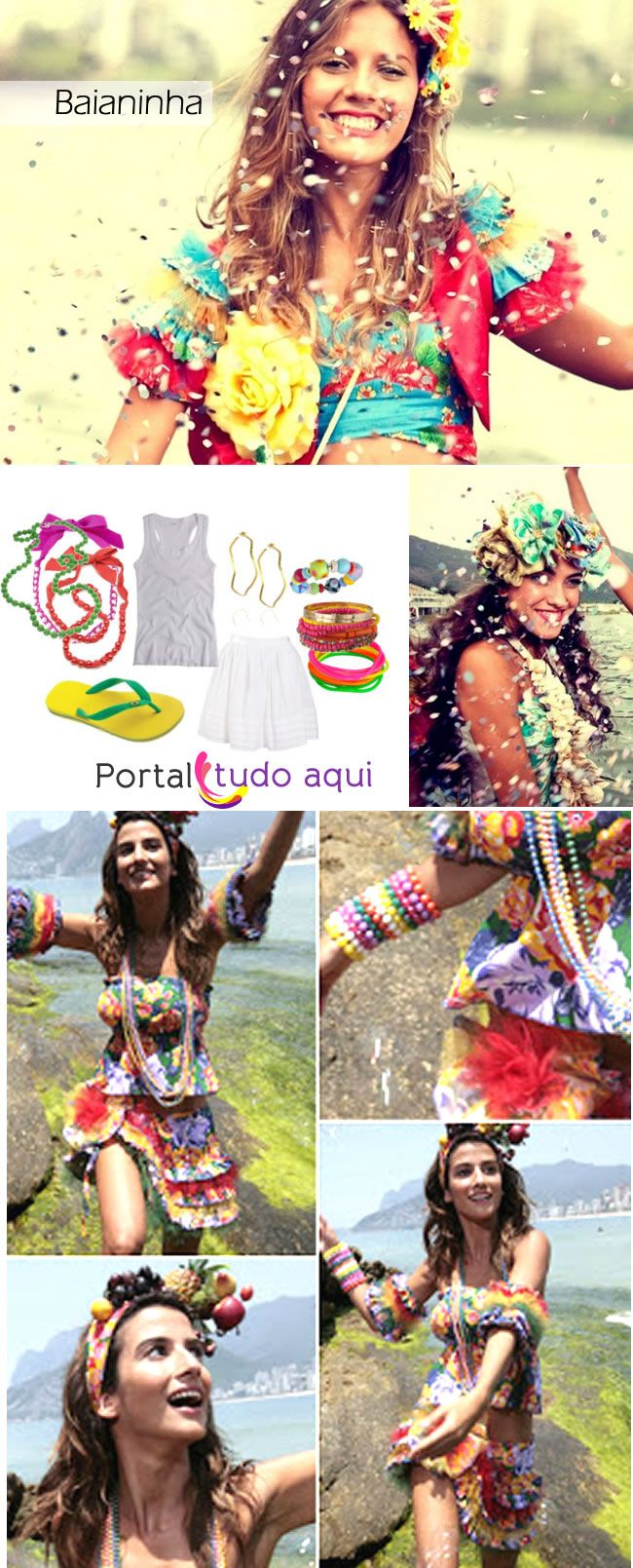Fantasia improvisada e fácil de fazer para o carnaval 2013 | Portal Tudo Aqui