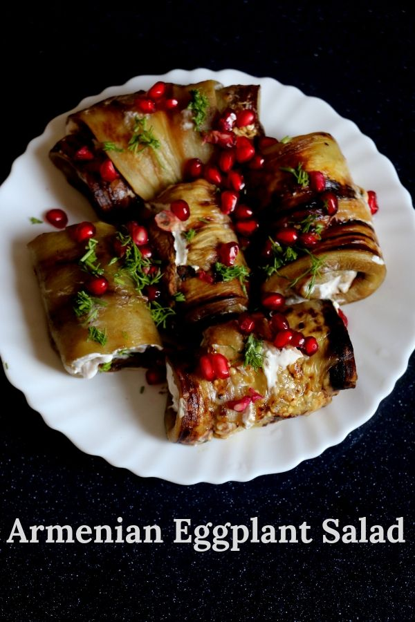 Armenian Eggplant Salad