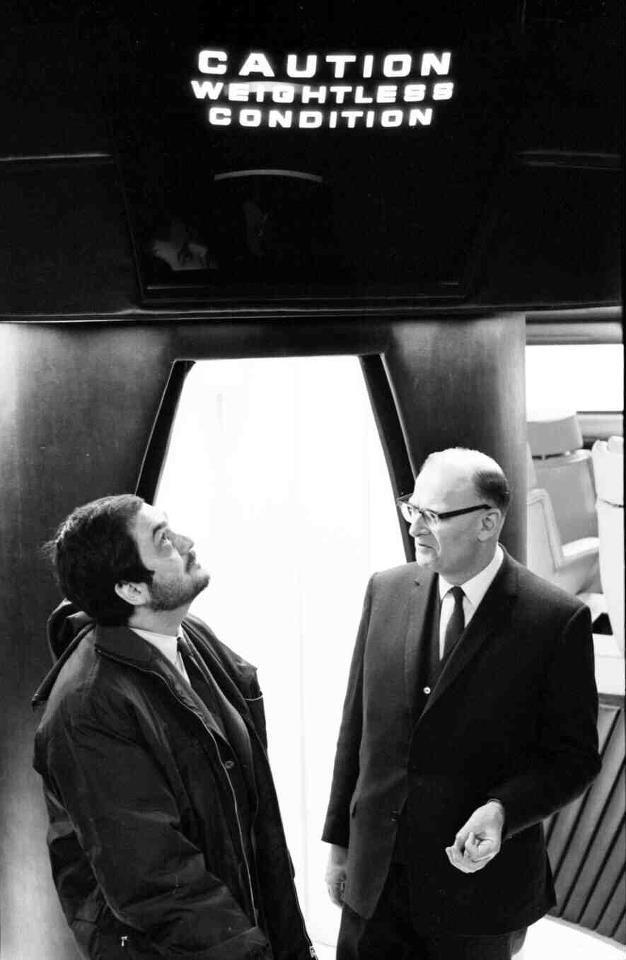 Stanley Kubrick and Arthur: imgur: the simple image sharer