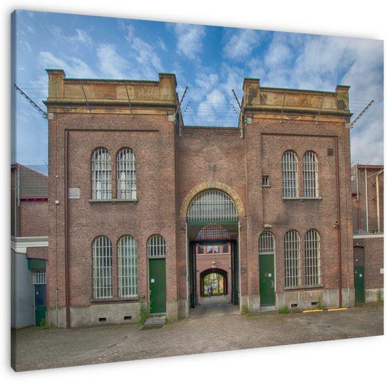Toegangspoort, gevangenis Noordsingel, Rotterdam.