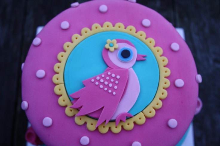 Detail Pip-achtige taart