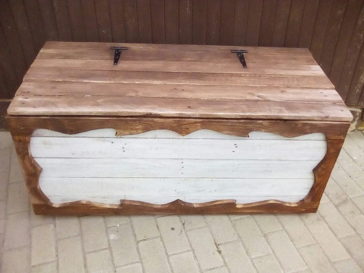 Rustic French flair trunk