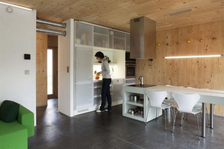 Maison Bessancourt by Karawitz Architecture | kitchen | Pinterest ... | {Altholzküchen modern 86}