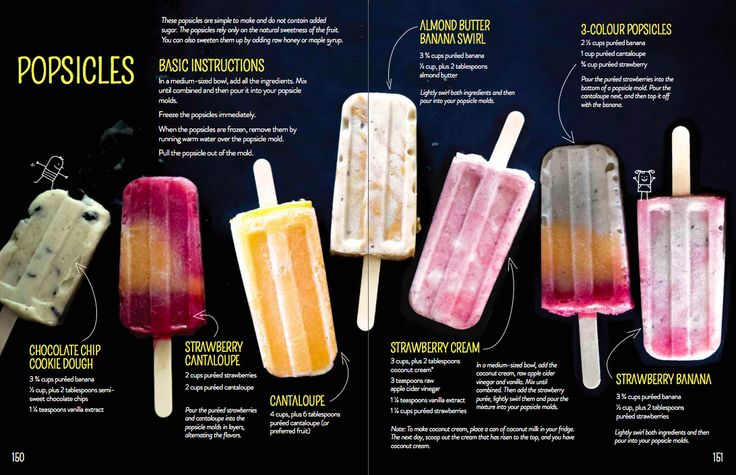 7 Popsicle Recipes with No Added Sugar