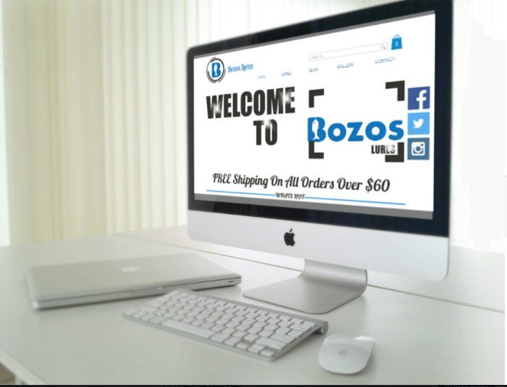 A new makeover for Bozos Fishing.  New Website  New Logos  New Packaging New Branding #webdesign #seo #webdesign #seo #ebaystore #googleadwords #socialmediamarketing #dropshipping