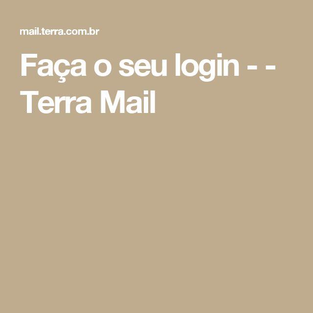 Faça o seu login -  - Terra Mail