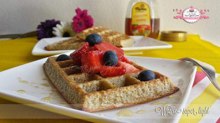 Waffle+super+light+-+senza+latte+e+senza+grassi+(126+calorie+l'uno)