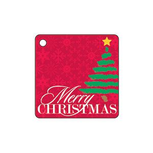 Merry Christmas Tree Gift Tag | MyRecipes.com