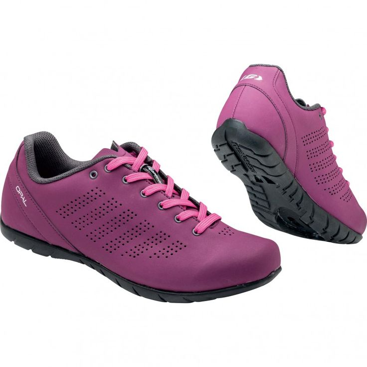 WOMEN'S OPAL CYCLING SHOES Perfect for women cyclists looking for a versatile footwear choice, the Opal cycling shoes provide good performance on the pedals and a dash of off-the-bike appeal. The classic lightweight construction with contrast laces is stylish and easily adjusted, while the Multi Lite outsole is semi-rigid to make walking easier.