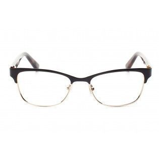 Jimmy Choo Glasses - 99. Snake skin effect detailing on the sides of this classically styled frame move it firmly into the 21st century. The dark brown top rim is given a lighter edge by the thin bottom, gold rim. This frame has a defined, professional look with a quirky edge. Visit http://www.myglassesclub.co.uk/ #glasses #eyewear #JimmyChoo