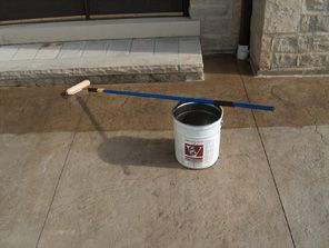 stamped concrete sealers