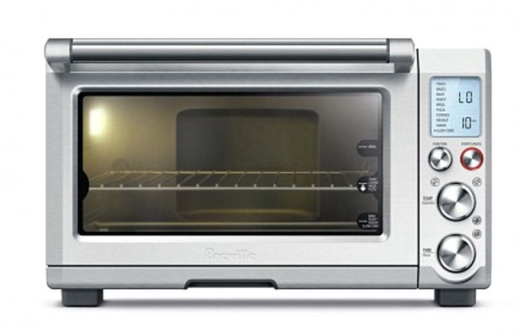 The Breville Smart Oven Pro A Truly Remarkable Countertop Oven with presets, an interior light and smart technology that knows just what your food needs.