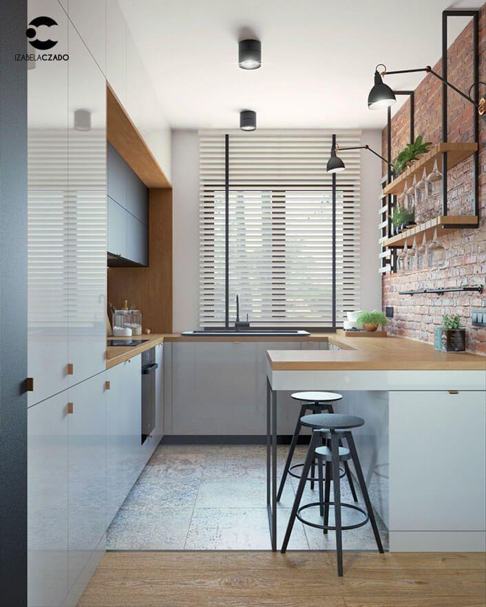 Salon Z Kuchnia I Jadalnia 52 M Kw Styl Loftowy Home Decor Home Decor