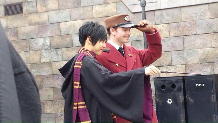 梶くん at Hogwarts