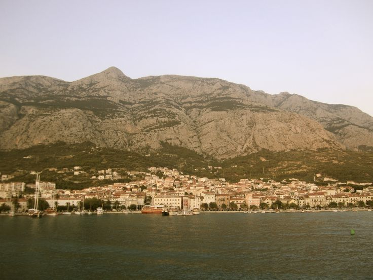 Makarska riviera on the coast Adriatic Sea in Croatia