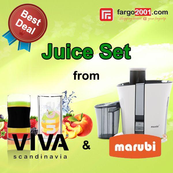 """Anda suka meminum jus setiap hari? Jangan lewatkan deal terbaik dari kami untuk """" Juice Set """" hanya di fargo2001.com ! http://fargo2001.com/index.php?route=product%2Fsearch&search=juice"""
