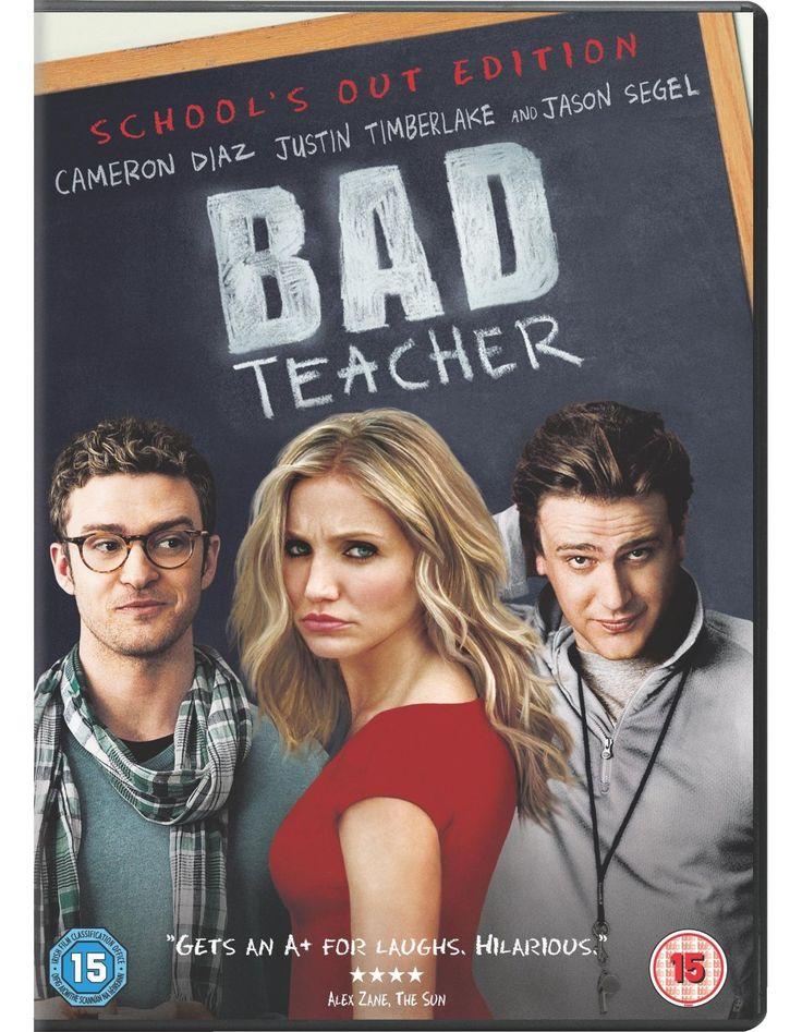 Bad Teacher Dvd 2011 Amazon Co Uk Cameron Diaz Justin Timberlake Jason Segel Lucy Punch John M Bad Teacher Bad Teacher Movie Cameron Diaz Bad Teacher