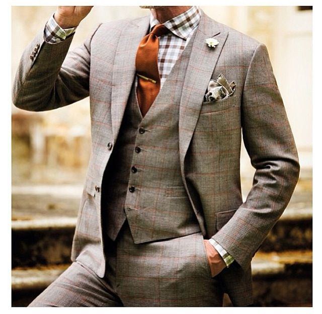 44 best 3 Piece Suits! images on Pinterest