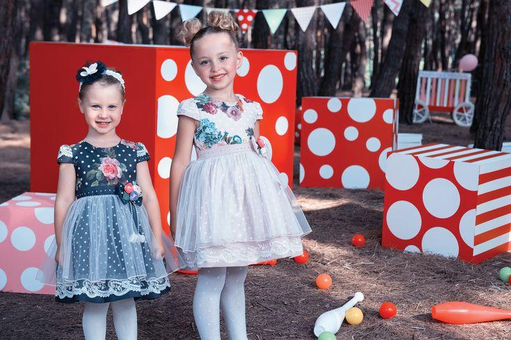 Doğum günü partileri bizi bekliyor! :) Birthday parties are waiting for us.Дни Рождения ждут нас بالنسبة لنا ننتظر حفلات أعياد الميلاد  #kidsclothes #trend #girl #partyclothes