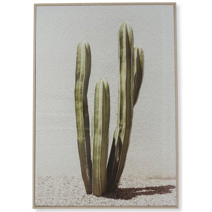 Desert Cactus Wooden Framed Wall Art $145.90