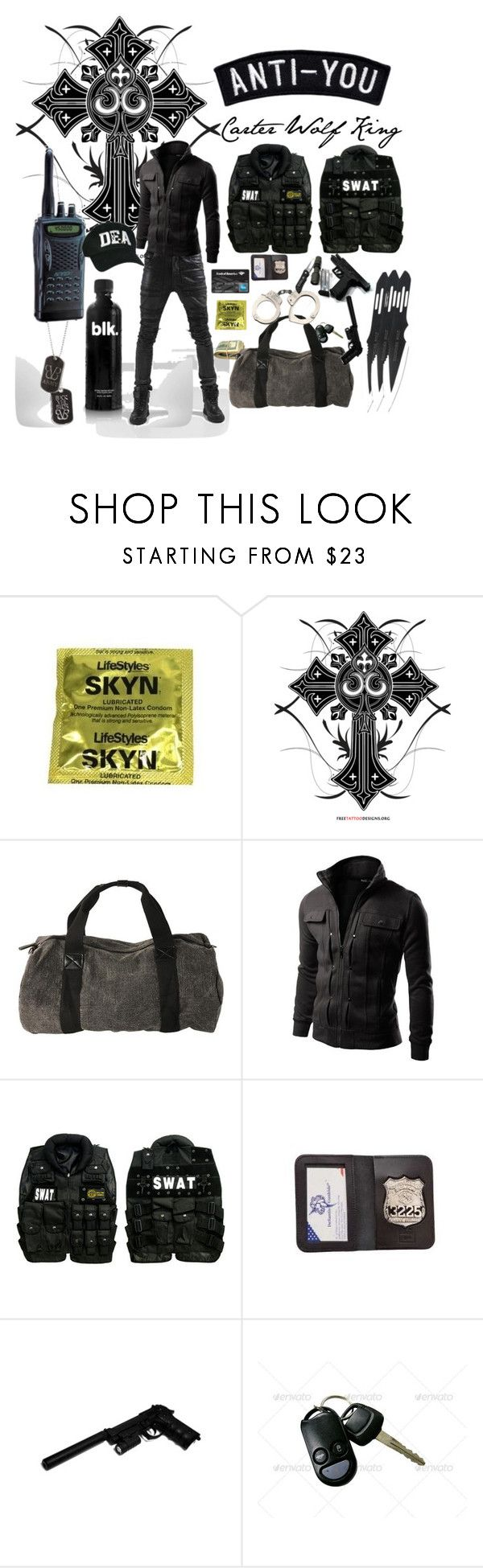 CARTER WOLF KING by thekinsellagirl on Polyvore featuring Doublju, Swat, POLICE and GAS Jeans
