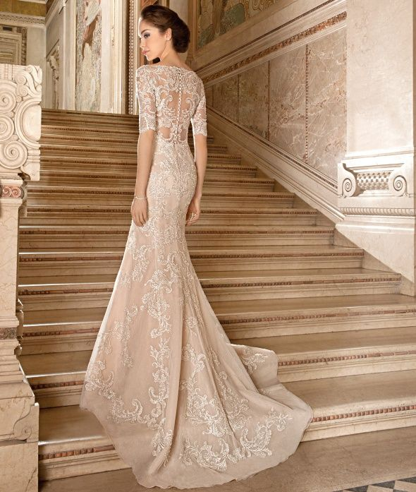 Dimitri Wedding Gowns: Demetrios 2015 Wedding Dress Style 1488 #macysbridalsalon