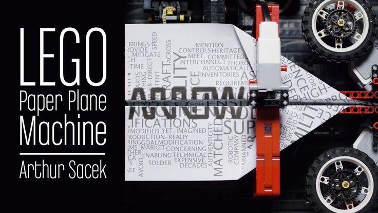 LEGO Paper Plane Machine - Arrow Electronics