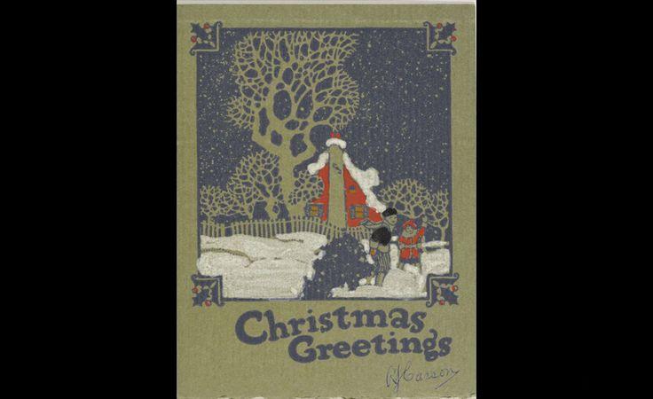 A.J. Casson (1898-1992), Christmas Greetings