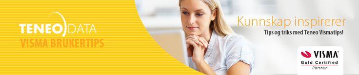 Visma-tips. Bloggen vår der du finner mer enn 200 tips om programvare fra Visma