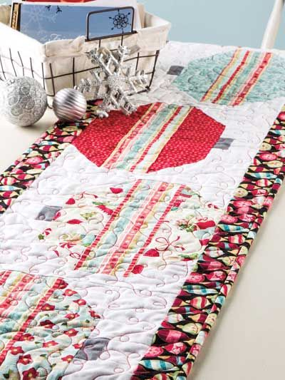 Kitchen Quilting Ideas : 28 best images about Quilt Christmas Kitchen Decor Pattern Downloads on Pinterest Runners ...