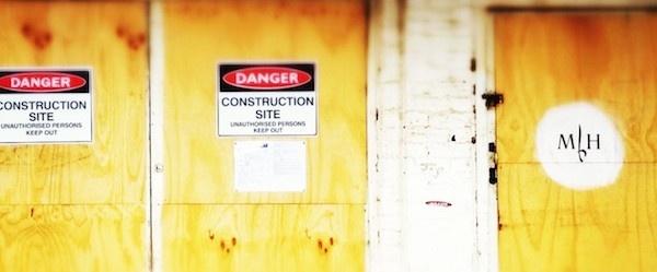 Mitchell Harris Cellar Door Build kicks off...