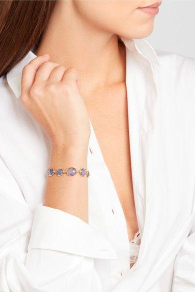 Pippa Small - 18-karat Gold Tanzanite Bracelet - one size